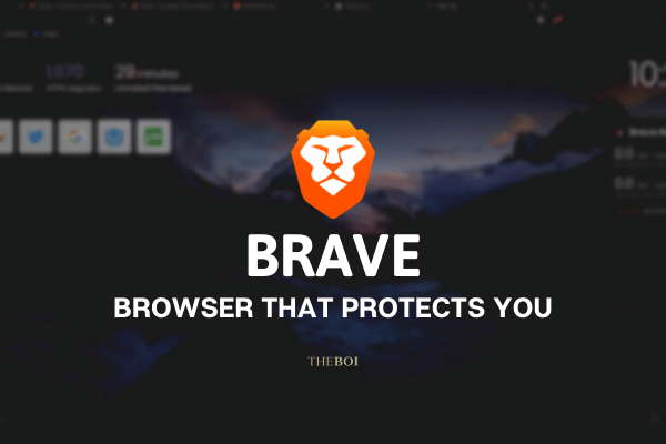 Be Brave and Protect Your Privacy