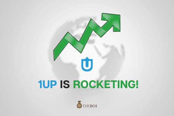 The Price of 1UP is Rocketing!