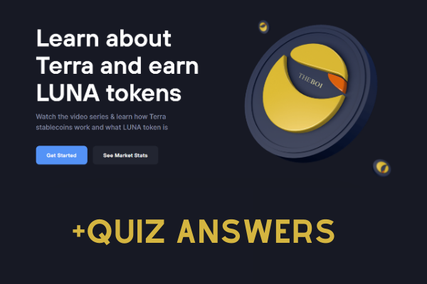 Earn LUNA By Learning (or cheating)